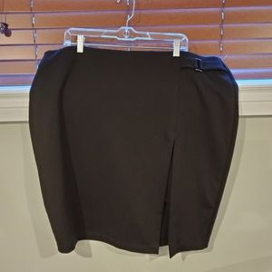 Michael Studio Black Skirt